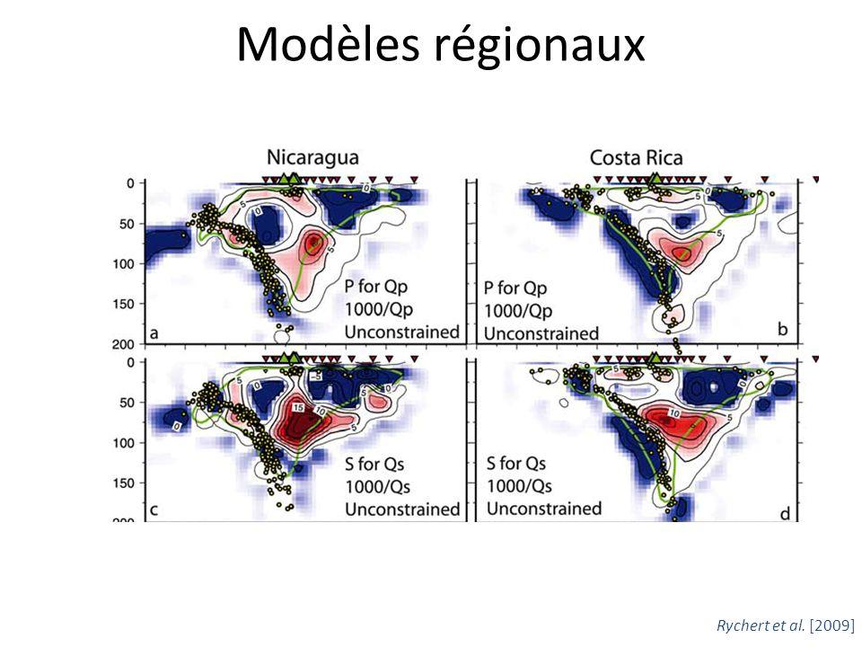 Modèles régionaux Rychert et al. [2009]
